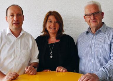 Geschäftsführer Wolfgang Hahl, Ralf Hahl, Susanne Hahl
