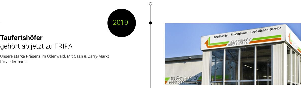 2019: Taufertshöfer gehört zu Fripa